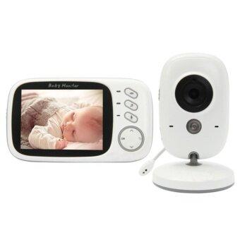 Baby Monitor กล้องเฝ้าดูเด็กนอน ไร้สาย ดูแลเลี้ยงลูกขณะนอนหลับ VOX ควบคุมอุณหภูมิ Night Vision แบต 20 ชม.