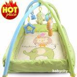 ราคา เพลยิม ที่นอนเด็ก เปลเด็ก ของเล่นเสริมพัฒนาการ ที่นอนเด็กแรกเกิด ที่นอนเด็กอ่อน เบาะนอนทารก สีเขียว Baby Play Gym ใหม่ ถูก