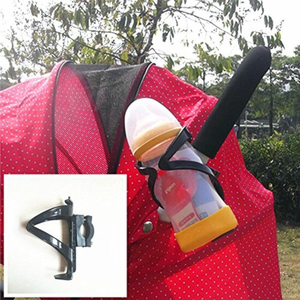 ของแท้ ลดราคา VAKIND อุปกรณ์เสริมรถเข็นเด็ก รถเข็นเด็กทารกที่เท้าแขนหนังเทียมกรณีป้องกัน (สีดำ) มีของแถม ส่งฟรี