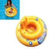 ซื้อ Baby Swimming Seat Ring Infant Inflatable Aid Trainer Toddler Float Baby Safety Intl ใน จีน
