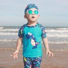 เด็กชุดว่ายน้ำเด็ก 3 ชิ้นชุดว่ายน้ำเด็กชุดว่ายน้ำชุดว่ายน้ำดวงอาทิตย์การป้องกัน - นานาชาติ.