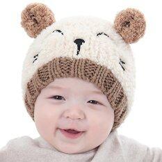 เด็กทารกเด็กวัยหัดเดินเด็กสาวถักเด็กน่ารักหมวกนุ่ม.