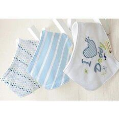 ซื้อ Baby Touch ผ้ากันเปื้อนเด็ก เซตเบสิค 3 ผืน ลายรักพ่อ Thailand
