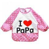 ซื้อ Baby Touch ผ้ากันเปื้อนเด็ก กันน้ำ แขนยาว รักพ่อ ชมพู ใน กรุงเทพมหานคร