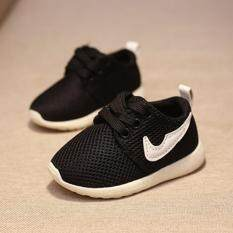 ขาย ซื้อ Baby Touch รองเท้าเด็ก รองเท้าพื้นแข็ง ไนกี้ ดำ กรุงเทพมหานคร