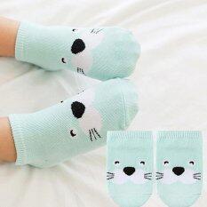 Baby Touch ถุงเท้าเด็ก สั้นบาง สวนสัตว์ (แมวน้ำ) By Whale-Known.