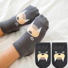 Baby Touch ถุงเท้าเด็ก สั้นบาง สวนสัตว์ (วอรัส) By Whale-Known.