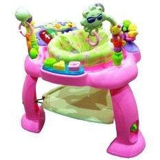 ราคา เก้าอี้กระโดดของเล่นรอบตัว สีชมพู ใหม่