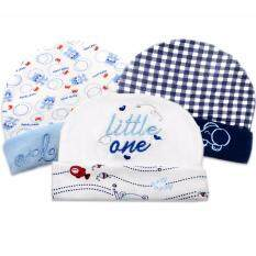 Babybrown ชุดเซ็ทหมวกแพ็ค 3 ชิ้นสำหรับเด็กทารก เด็กแรกเกิด คละลาย เหมาะหรับเด็ก 3 เดือน ใหม่ล่าสุด