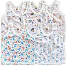 ราคา Babykids95 ชุดเด็กอ่อน เสื้อกล้าม ผ้ายืด Size 3 6 เดือน Cc 001 คละลาย 5 ตัว Babykids95 ไทย