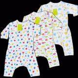 ขาย Babykids95 เสื้อแขนยาวผูกหน้า กางเกงขายาวต่อเป้า Size แรกเกิด 6 เดือน คละลาย 3 ชุด White ใน Thailand