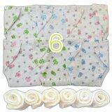 ราคา Babykids95 กางเกงผ้าอ้อมสาลู แผ่นซับ ซักได้ เด็กแรกเกิด 1ขวบ Set 6 ตัว เป็นต้นฉบับ Babykids95