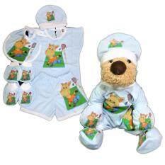 โปรโมชั่น Babykids95 ชุดเด็กอ่อน แรกเกิด 3เดือน เซ็ท 8 ชิ้น C 001 ถูก