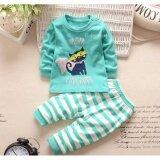 Babymari ชุดนอนเด็ก ชุดนอนเด็กผ้านิ่มลายแมว เซ็ทชุดนอนรุ่นขายดี เสื้อหนาวเด็กผ้านิ่ม ใน กรุงเทพมหานคร
