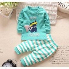 ขาย Babymari ชุดนอนเด็ก ชุดนอนเด็กผ้านิ่มลายแมว เซ็ทชุดนอนรุ่นขายดี เสื้อหนาวเด็กผ้านิ่ม กรุงเทพมหานคร ถูก