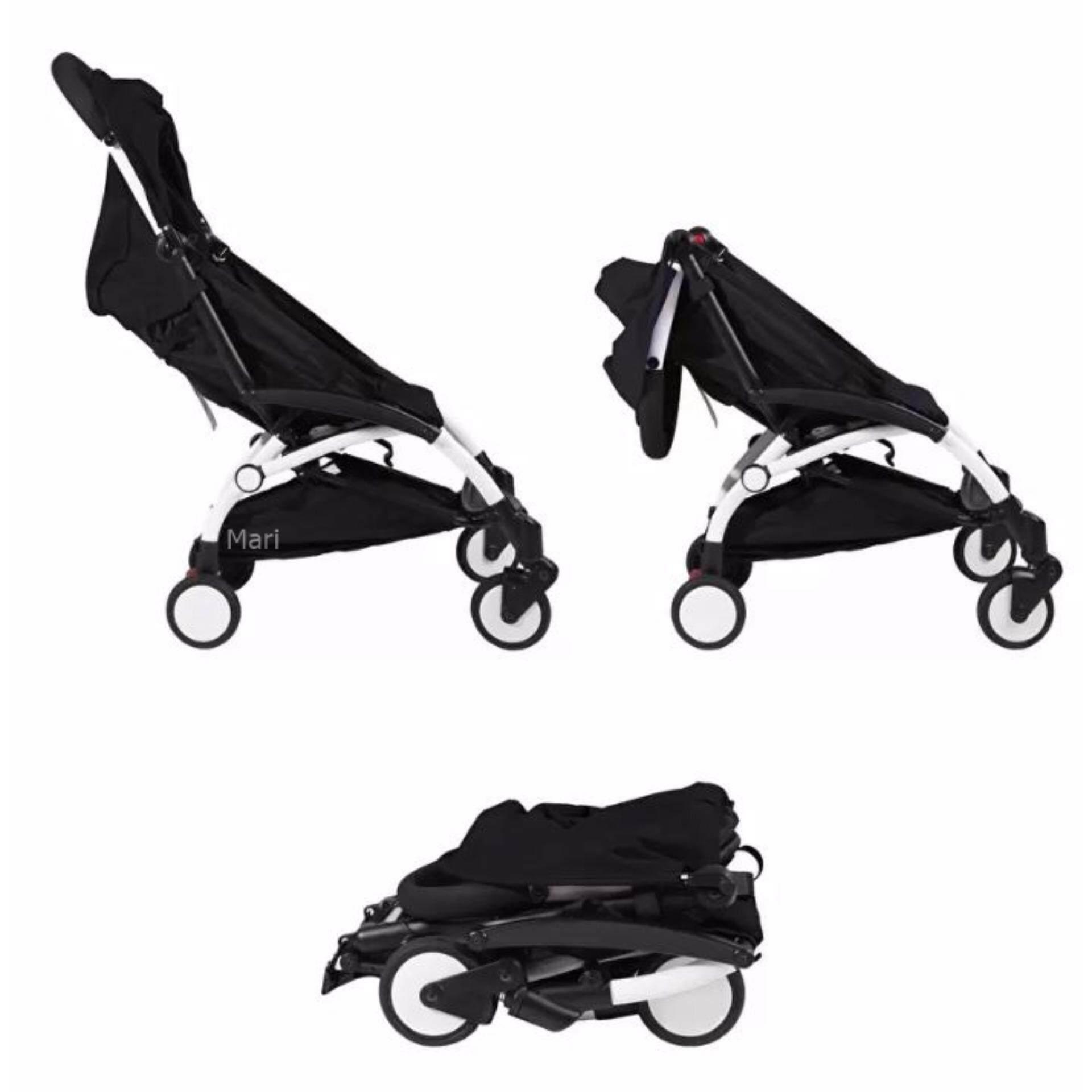 ลดล้างสต๊อกส่งท้ายปี Baby Jogger รถเข็นเด็กแบบนอน Baby Jogger รถเข็นเด็ก City Mini Zip - Black ดีจริง ๆ
