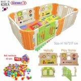 ราคา Babymom Neolife Haenim Playgame Melody Size M คอกกั้นเด็ก แผ่นเกมส์ แผ่นเพลง พร้อมแสงไฟ เสียงดนตรี ขนาด 116 217 60 Cm พร้อมลูกบอล Nontoxic 40 ลูก