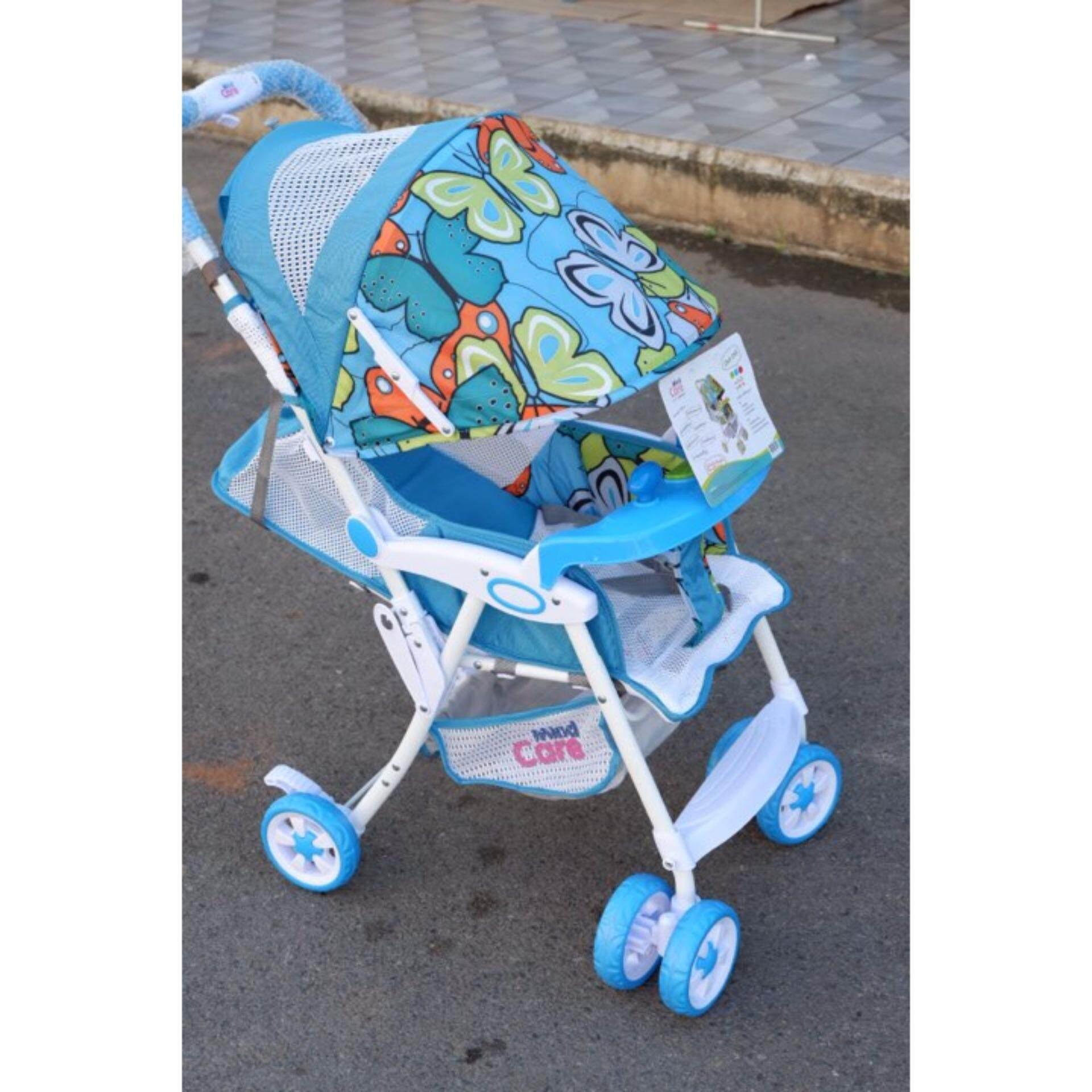 ลดราคา Babymari รถเข็นเด็กแบบนอน Babymari รถเข็นเด็กพับเล็ก รถเข็นเด็กน้ำหนักเบา รถเข็นเด็กขนาดพกพา รุ่นขายดี สีชมพู ขายถูกที่สุดแล้ว
