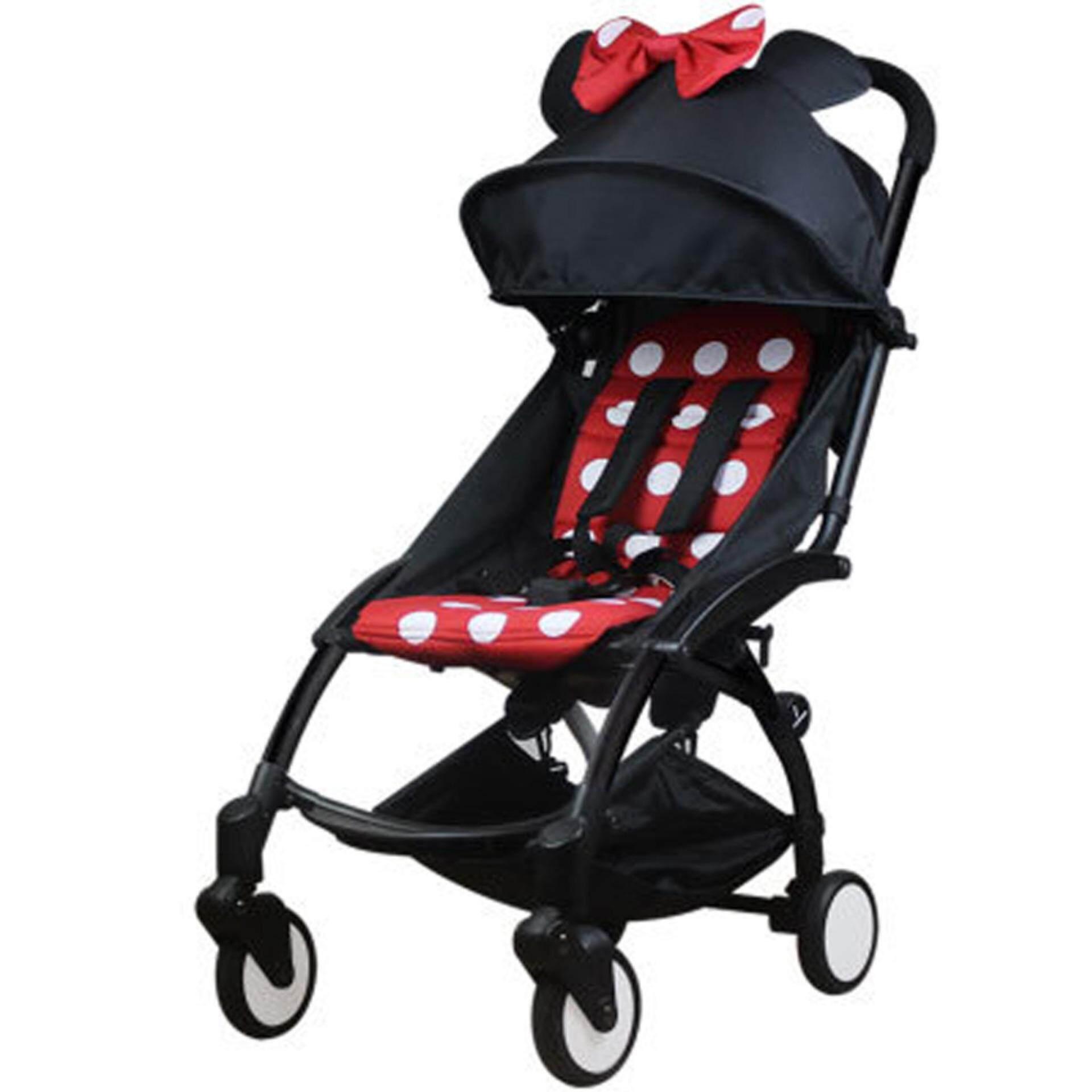 Sale ส่งท้ายปีท็อป 1 ดีที่สุด Unbranded/Generic รถเข็นเด็กแบบนอน Baby Stroller Wisesonle ( KHAKI ) รถเข็นเด็กน้ำหนักเบา 4.8kg กางพับเก็บง่ายพกพาสะดวกโครงสร้างแข็งแรงเป็นพิเศษรับน้ำหนักได้ 25Kg. รูปทรงสีสันสวยงามน่าใช้ ช่องใส่ของขนาดใหญ่ด้านล่าง สีน้ำตาล ซื้อที่ไหน ? ถูกที่สุด