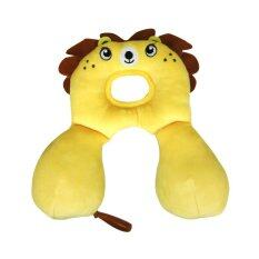 ซื้อ Banbat หมอนหลุมพร้อมรองคอ สิงโตสีเหลืองไข่ไก่ ถูก