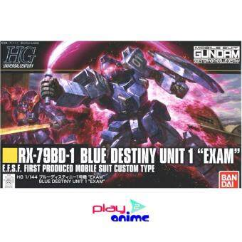 Bandai 1/144 High Grade Blue Destiny Unit 1 - EXAM