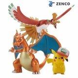 ขาย Bandai Pokemon Plastic Model Collection Ho Oh Charizard Ash Ketchum S Pikachu Bandai ใน ไทย