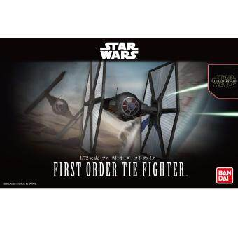 Bandai Scale 1/72 Star Wars First Order Tie Fighter (Plastic Model)