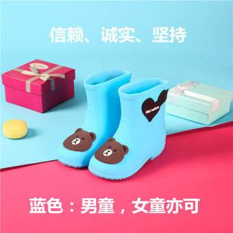 ปีกหมีเด็กอ่อนรองเท้ากันฝนสำหรับเด็กเด็กผู้หญิง Petpet รองเท้ากันฝนน่ารักการ์ตูนเจ้าหญิงกันลื่นรองเท้ากันน้ำเด็กผู้ชายรองเท้าน้ำ-