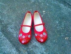 ทบทวน ที่สุด เจ้าหญิงรองเท้าเก่าปักกิ่งรองเท้าทารกที่ทำด้วยมือ