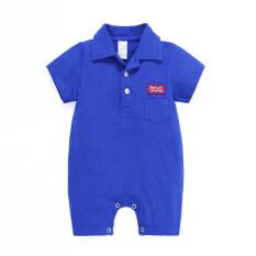ขาย ซื้อ ทารกอังกฤษธงปกส่วนบางปีนเสื้อผ้า Coveralls ผ้าฝ้าย ใน ฮ่องกง