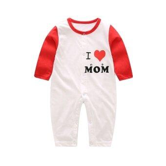 ทารกแขนยาวในช่วงฤดูร้อนส่วนบางปีนเสื้อผ้า coveralls ทารก