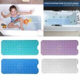 ซื้อ Bathtub And Shower Mat Extra Long Non Slip Anti Bacterial Large For Bath Shower Intl Unbranded Generic