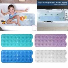 ส่วนลด สินค้า Bathtub And Shower Mat Extra Long Non Slip Anti Bacterial Large For Bath Shower Intl