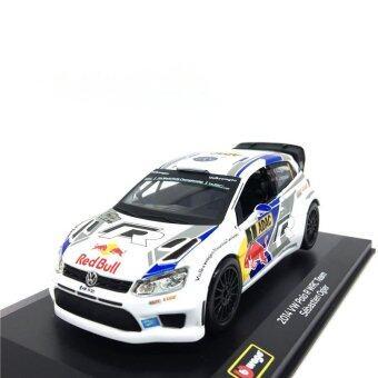 Bburago 1:32 2014 VW Polo R WRC Team Racing #1 Sebastien Ogier die-cast model car - intl