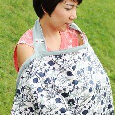 ส่วนลด Beanie Nap ผ้าคลุมให้นม รุ่น Bn754016 ลาย Blueberry Beannie Nap