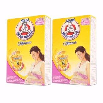 BEAR BRAND ตราหมี มามา บีแอล นมผงสำหรับคุณแม่ตั้งครรภ์และให้นมบุตร 350 กรัม (แพ็ค 2 กล่อง)