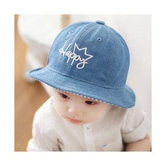 Bear Fashion Baby Jean Happy Girls Boys Hats Caps - intl