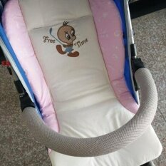ราคา Beau Cartoon Stroller Liner Seat Cushion Pad Waterproof Baby Chair Car Seat Pads Pink Intl ใน จีน