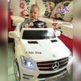 ซื้อ รถเด็กนั่งBenzลิขสิทธฺ์แท้ สีขาว รถแบตเตอรี่ บังคับวิทยุด้วยรีโมทและขับธรรมดา ใหม่ล่าสุด