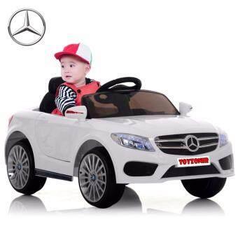 Benz CLA Class 12V 2 Motors รถแบตเตอรี่ รถเด็กนั่งไฟฟ้า รถเด็กเล่นบังคับวิทยุ - สีขาว 12V 2 Motors รถแบตเตอรี่ รถเด็กนั่งไฟฟ้า รถเด็กเล่นบังคับวิทยุ - สีขาว