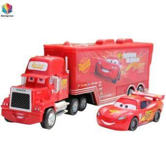 Bestprice Novelty Funny Toys Disney Pixar Car No.95 Mack Racer's Truck Lightning McQueen Toys Car 1:55 Loose - intl