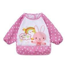 Bestprice - ผ้ากันเปื้อนกันน้ำเด็กทารกเสื้อผ้าเด็กหญิงแขนยาว Overclothes Hot - Intl By Bestprice2015.
