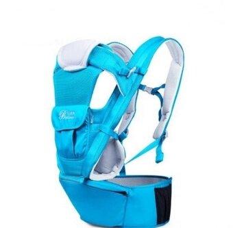 BethBear เป้เด็ก เป้เด็กแบบนั่ง เป้อุ้มเด็ก เป้อุ้มแบบ Hipseat Hip Seat (สีฟ้า)
