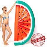 ทบทวน ห่วงยาง Big Size ห่วงยางแฟนซี แพยางเป่าลม ที่นอนเป่าลม แตงโม Watermelon 180 Cm สีแดง Pump Me Please