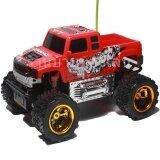 ขาย Bkl Toy รถบังคับ รถบิ๊กฟุตวิทยุบังคับ พร้อมถ่าน2Ax6ก้อน สีแดง 0111A R เป็นต้นฉบับ