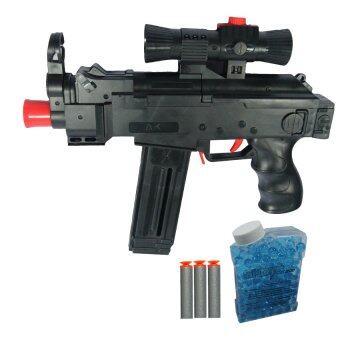 BKL TOY ปืน ปืนAK46 ยิงกระสุนโฟม+กระสุนน้ำ AK46