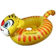 ขาย Bkl Toy ห่วงยางรูปทรงเสือ สอดขา คละสี Rt001