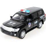 ราคา Black Police Car 1 32 Alloy Diecast Model Kids Car Toys ใหม่