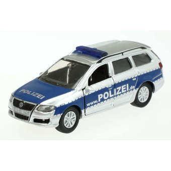 Black Shop International 1401 Vw Volkswagen Passat Variant 2.0 Fsi Police Car - Intl