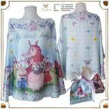 ขาย ผ้าคลุมให้นม รุ่น Blue Bunny Family แม่กระต่าย สีฟ้า Viva ออนไลน์